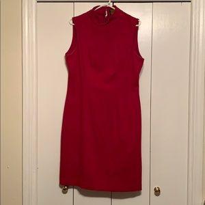 Red Sheath Dress 16
